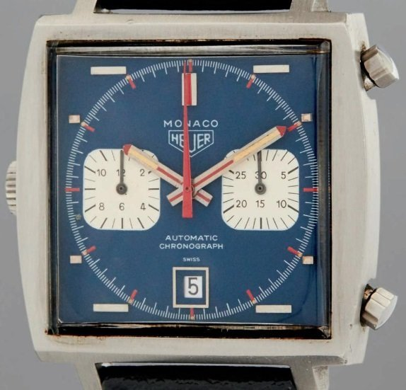 The heuer monaco - an iconic watch and with an iconic watch development story