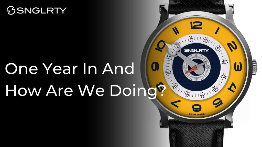 Celebrating the one year anniversary of the SNGLRty BLOG