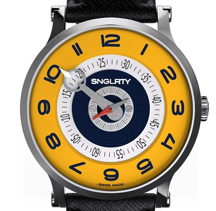 The University of North Carolina at Greensboro UNCG colors in SNGLRTY watch