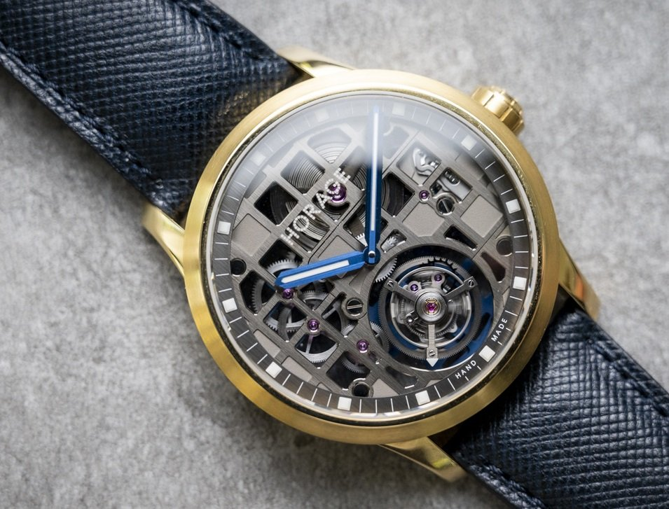 The Horage tourbillon ! is the cheapest tourbillon watch on the market currently.